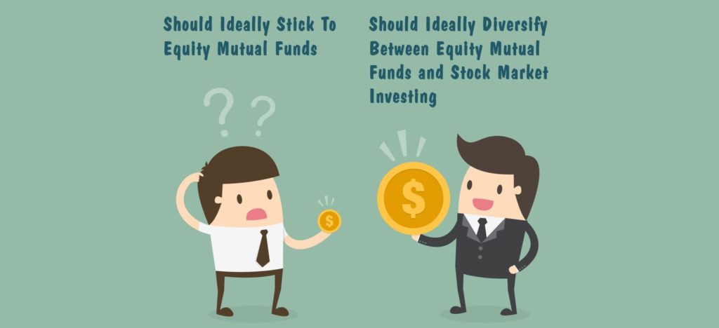 equity mutual funds versus stock market